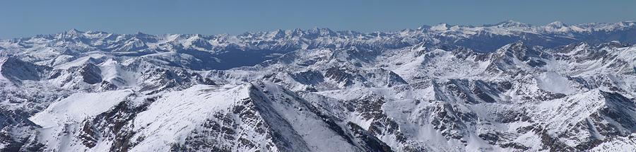 Winter In The Rockies From Mt. Massive Photograph by Photo By Matt Payne Of Durango, Colorado