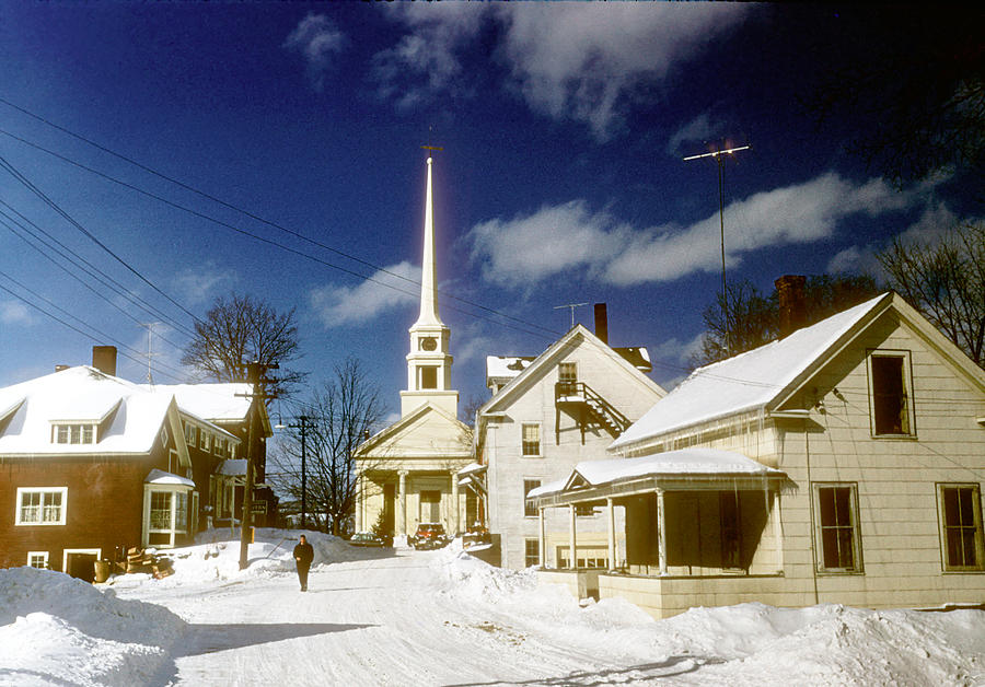 Winter In Vermont Photograph by Michael Ochs Archives