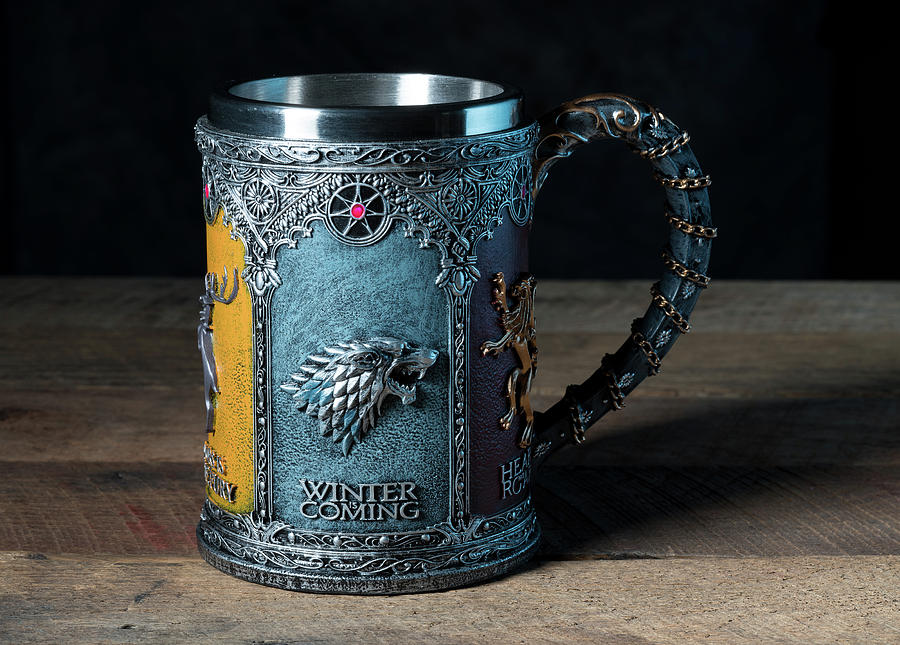 Winter is Coming tankard from Game of Thrones series by Steven Heap
