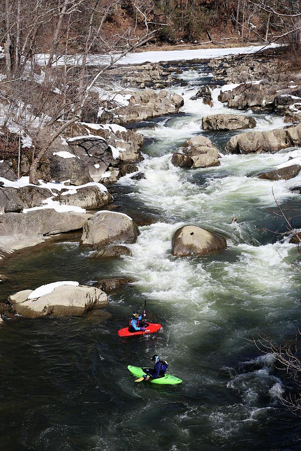 Winter Kayaking by Karol Livote