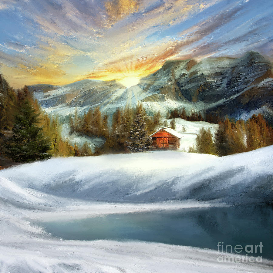 Winter Landscape by Anne Vis