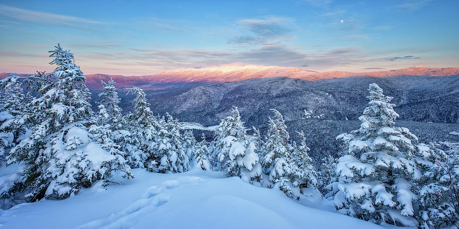 Winter Light, Mountain Views by Jeff Sinon