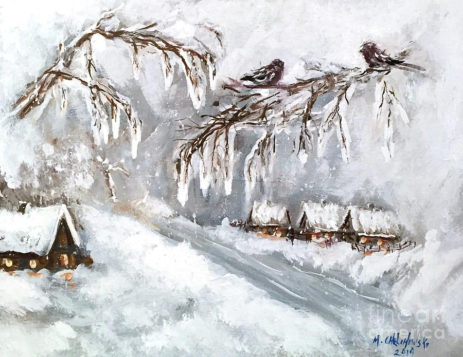winter by Miroslaw  Chelchowski
