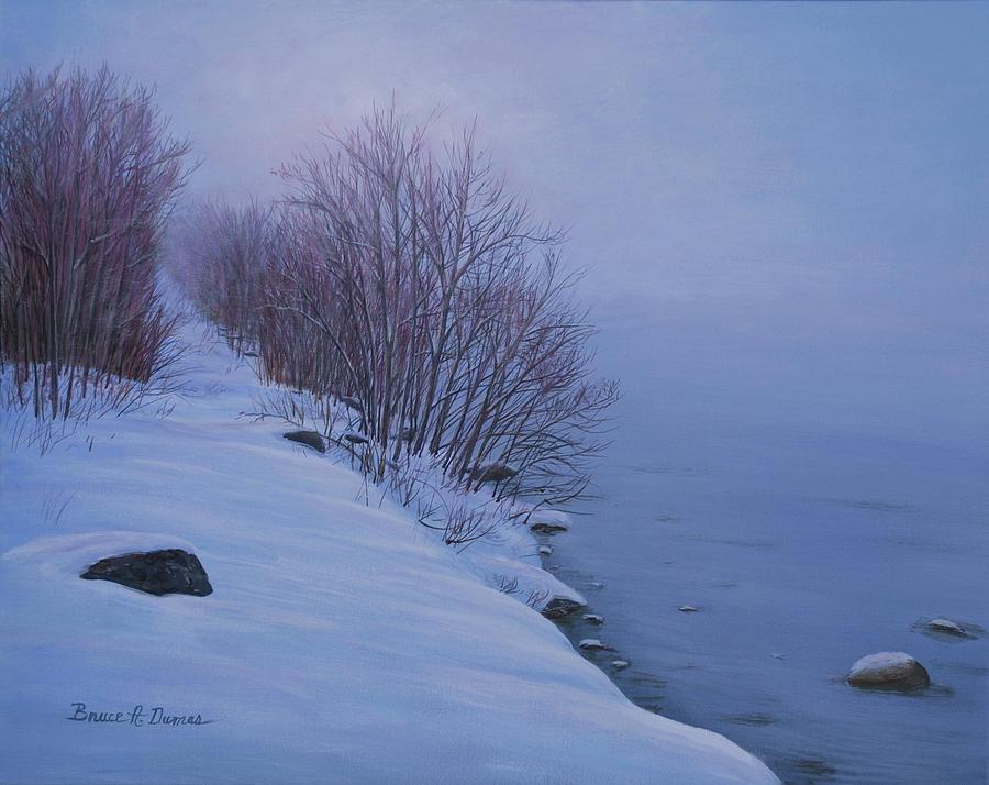 Winter Mist by Bruce Dumas