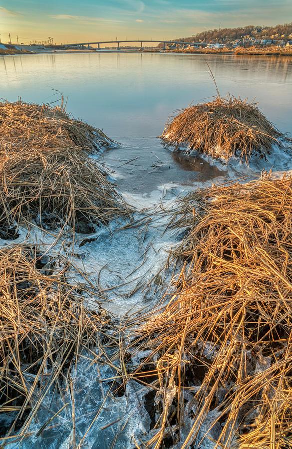 Winter Morning At Plum Island by Gary Slawsky