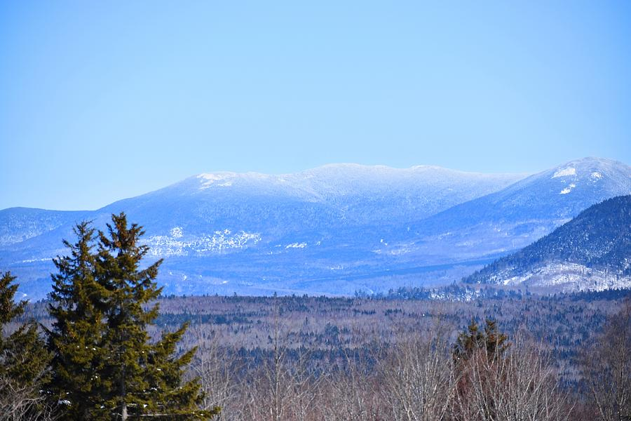 Winter Mountains of Norther Maine by Nina Kindred
