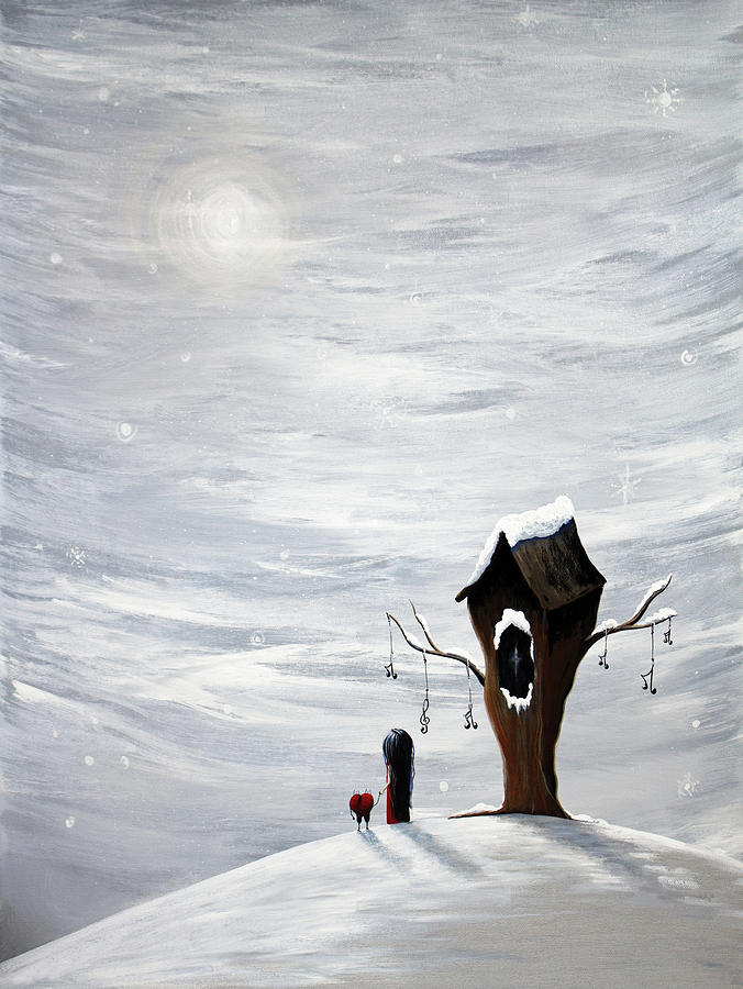 Winter Painting by Erback Art