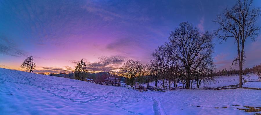 Panorama Photograph - Winter Panorama by Jonathan Hansen