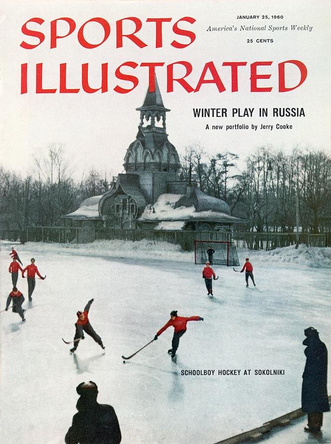 Winter Play In Russia Sports Illustrated Cover Photograph by Sports Illustrated