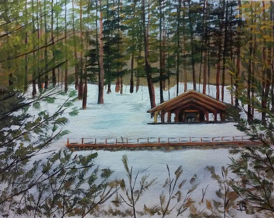 Winter Sanctuary by Valerie Bassett