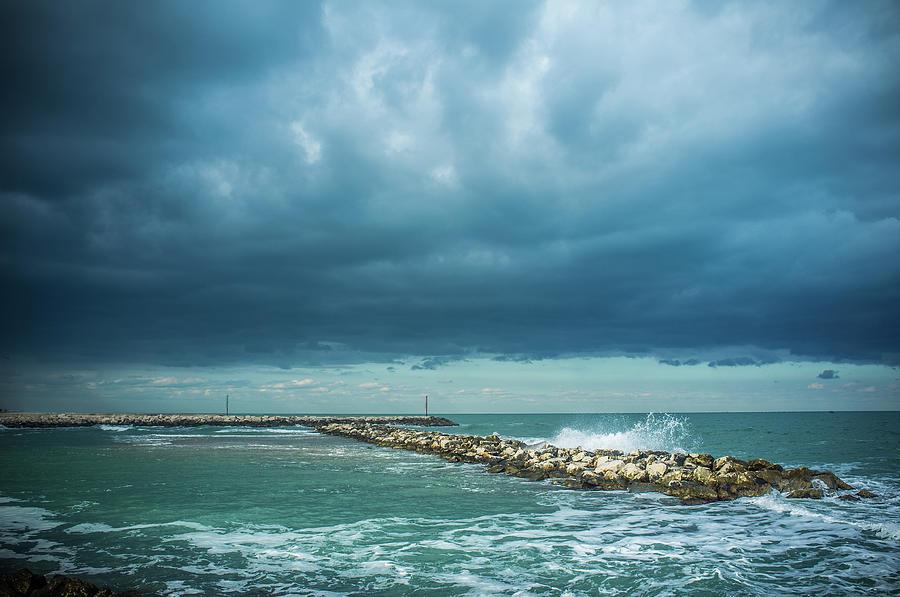 Winter Sea Photograph by Sabino Parente Photographer - Www.sabinoparente.com