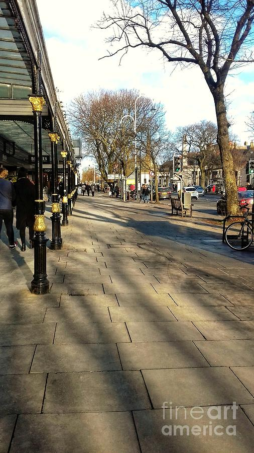 Winter Shadows on Lord Street by Joan-Violet Stretch
