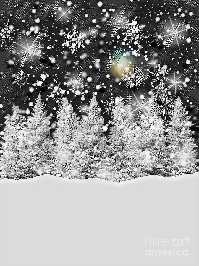 Winter Solstice Snowfall by Rachel Hannah