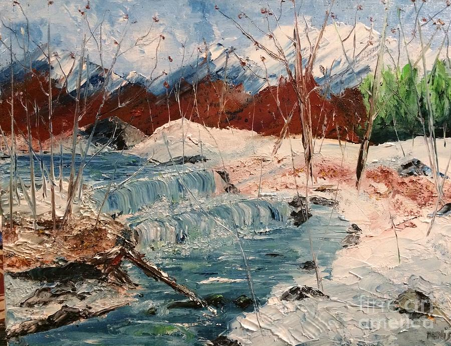 Winter Stream by DENISE TOMASURA