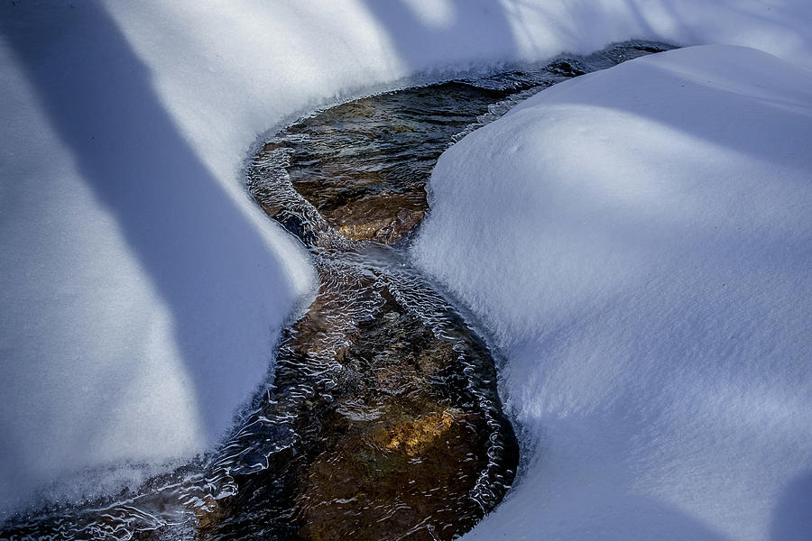Winter Stream. by Jeff Sinon