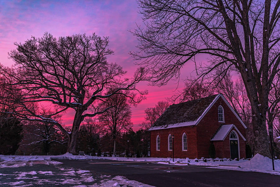 Winter Sunrise by Lori Coleman