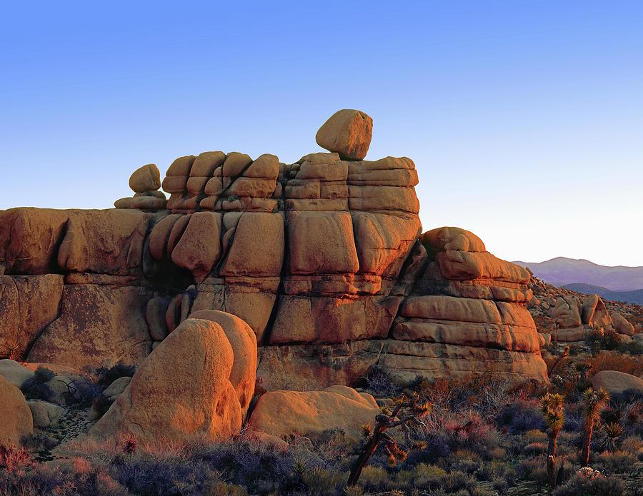 Winter Sunrise - Teetering Rock Formation by Paul Breitkreuz