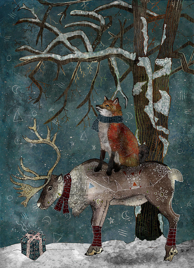 Winter Tale  - Winter Tale by Francesca Rizzato Art