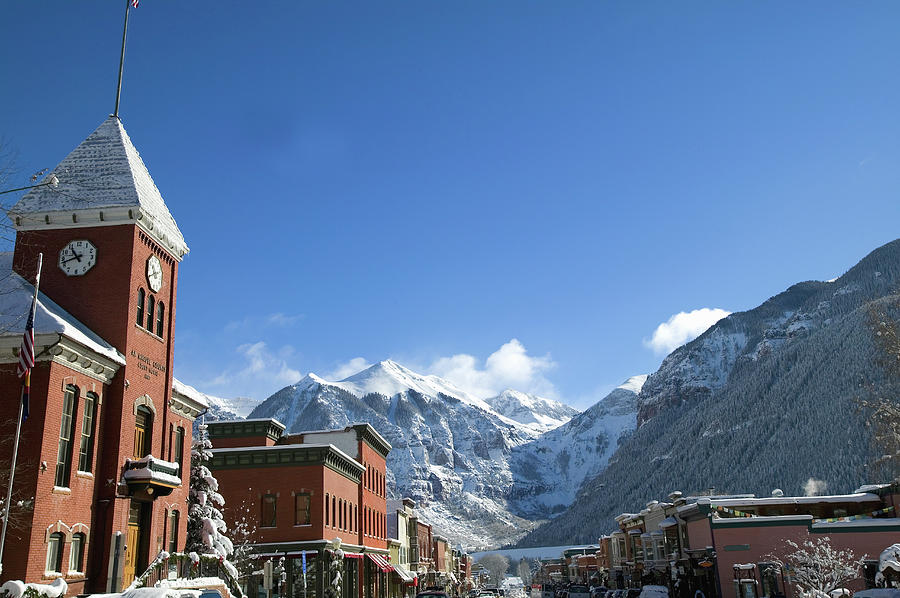 Winter Telluride Colorado Photograph by Dougberry