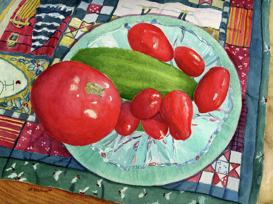 Winter Tomatoes by Lynne Reichhart
