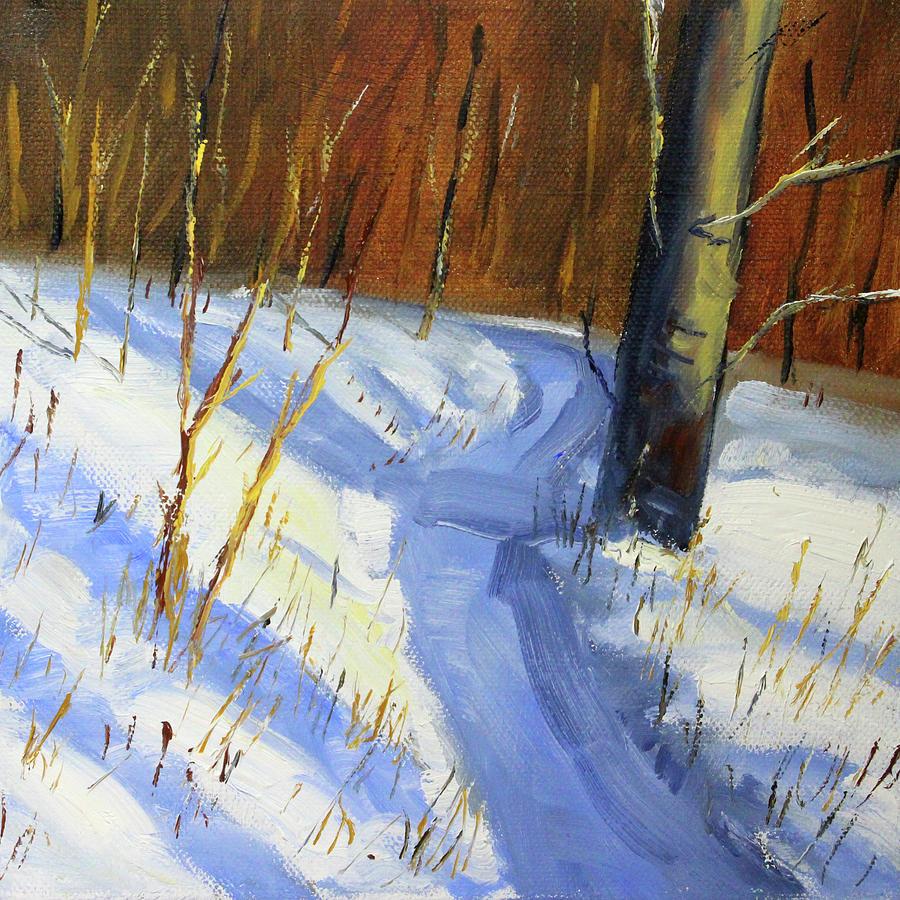 Winter Trail by Nancy Merkle