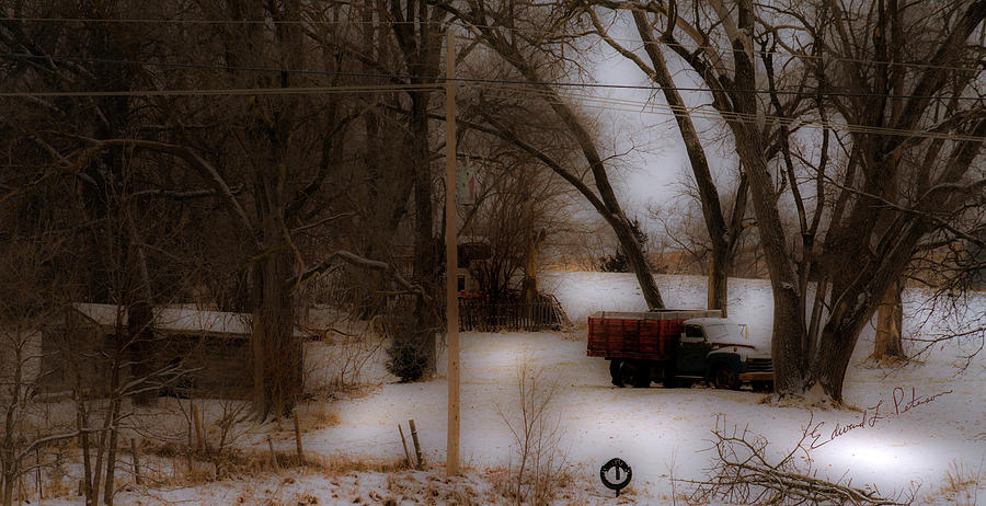 Winter Truck by Edward Peterson