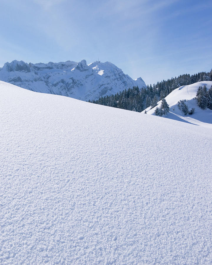 Winter View In The Alps Photograph by Beholdingeye