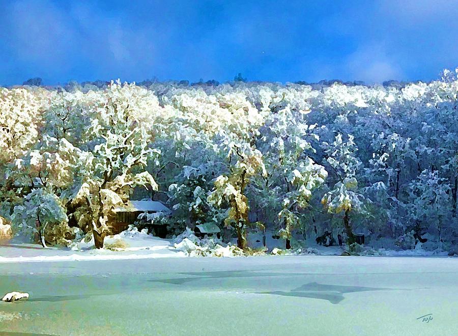 Winter Rainbow by Tom Johnson