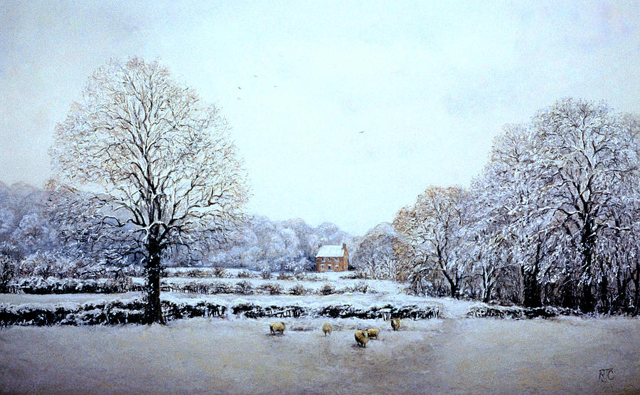 Winter Walk by Rosemary Colyer