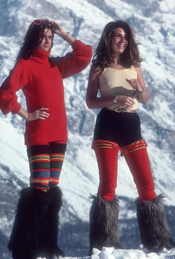 Winter Wear Photograph by Slim Aarons