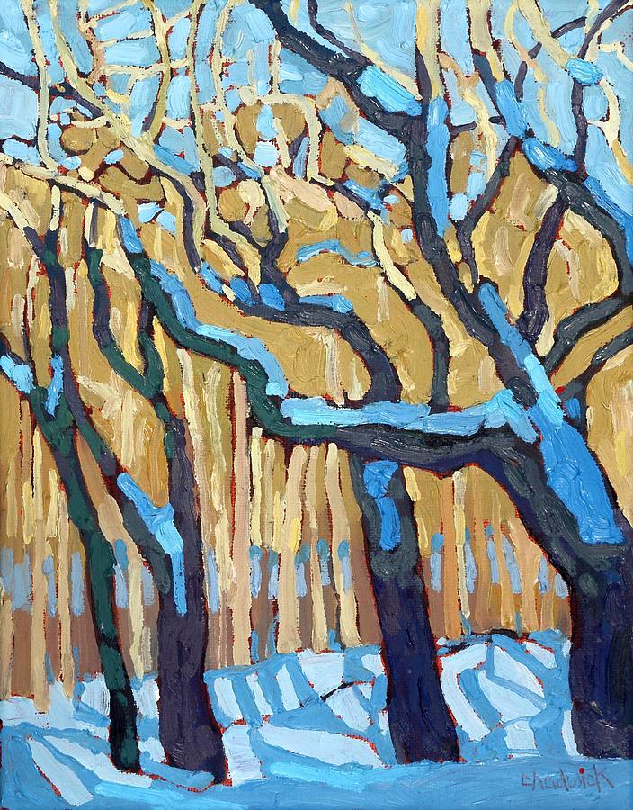 Winter Wetland by Phil Chadwick