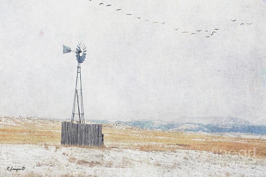 Winter Windmill by Rebecca Langen