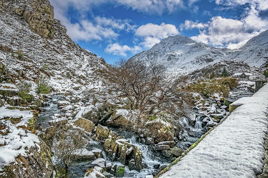 Winter Wonderland Snowdonia by Adrian Evans