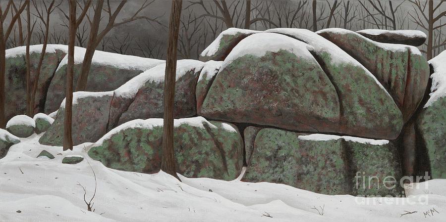 Wintering Elephant Rocks by Garry McMichael