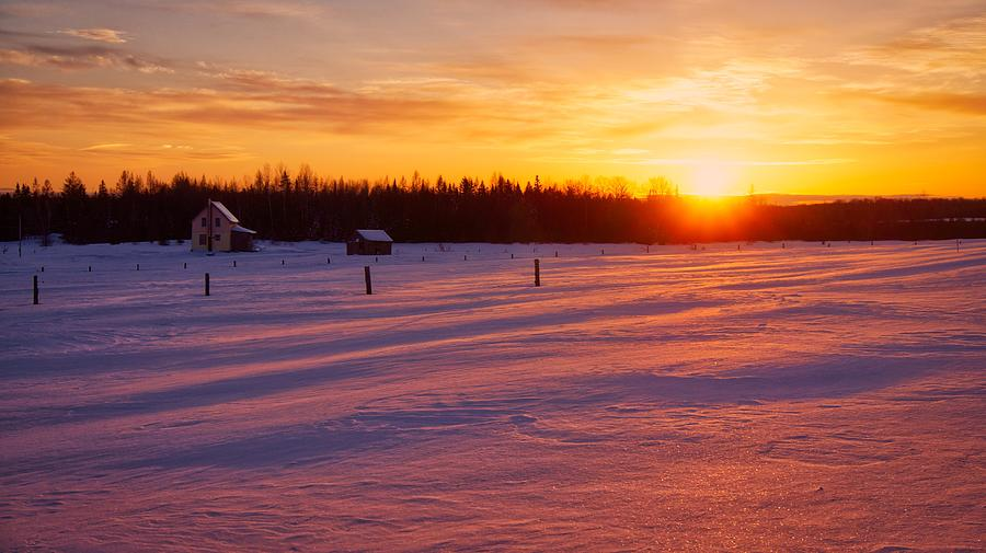 Winter's Glow by Bryan Smith