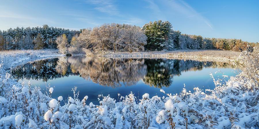 Winter's Reflection by Brad Bellisle