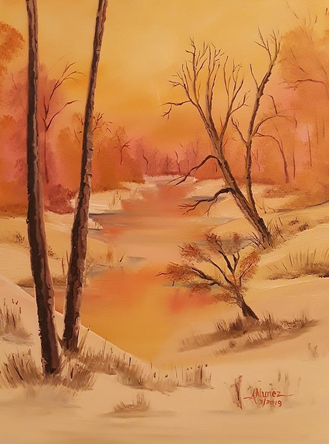Winter's Warm Day by Anthony Nunez