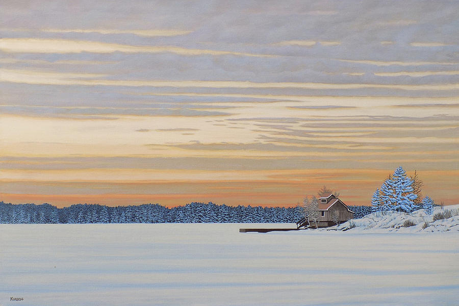 Winters Warm Embrace by Kenneth M Kirsch