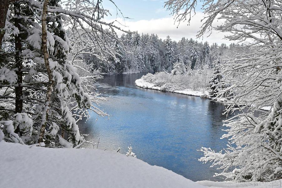 Wintery Ausable River 1053 Photograph