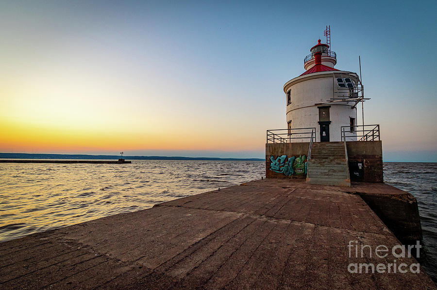 Wisconsin Point At Sunset by Ever-Curious Geek