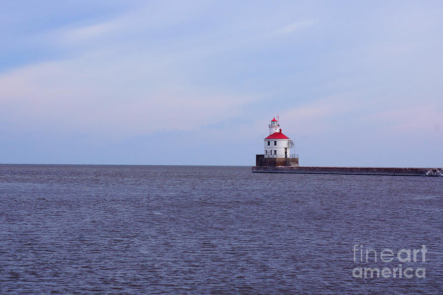 Wisconsin Point Light by Kyle Neugebauer