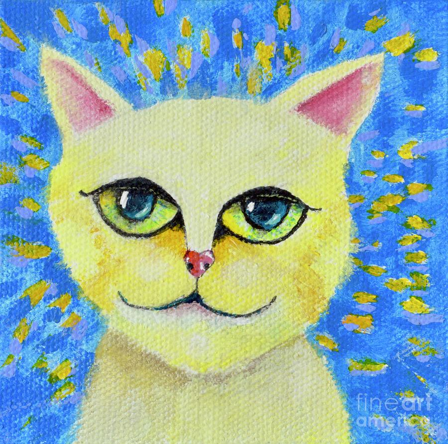Wise Cat by Mary Scott