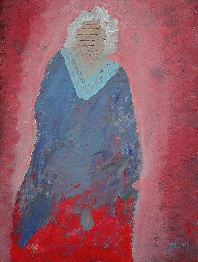 Wise Woman original painting by Sol Luckman