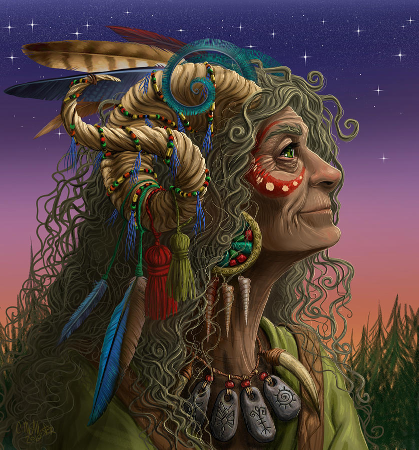 Wise Woman   v2 by Cristina McAllister