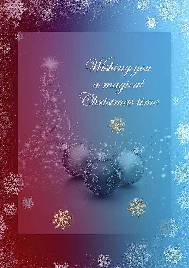 Wishing You A Magical Christmas Time by Johanna Hurmerinta
