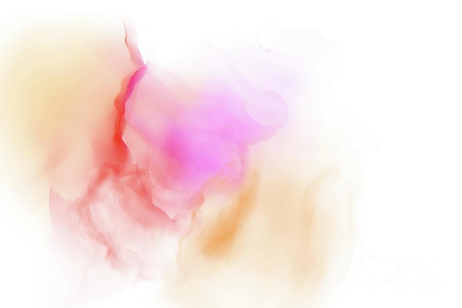 Wispy Abstract by Ann Garrett