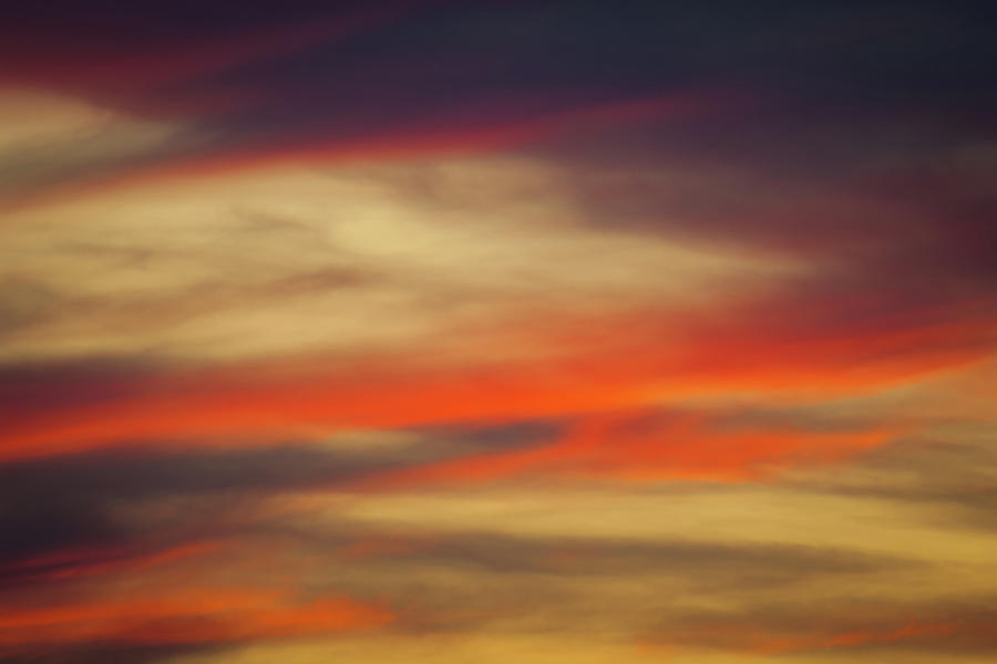 Wispy Sunset by Jeff Phillippi