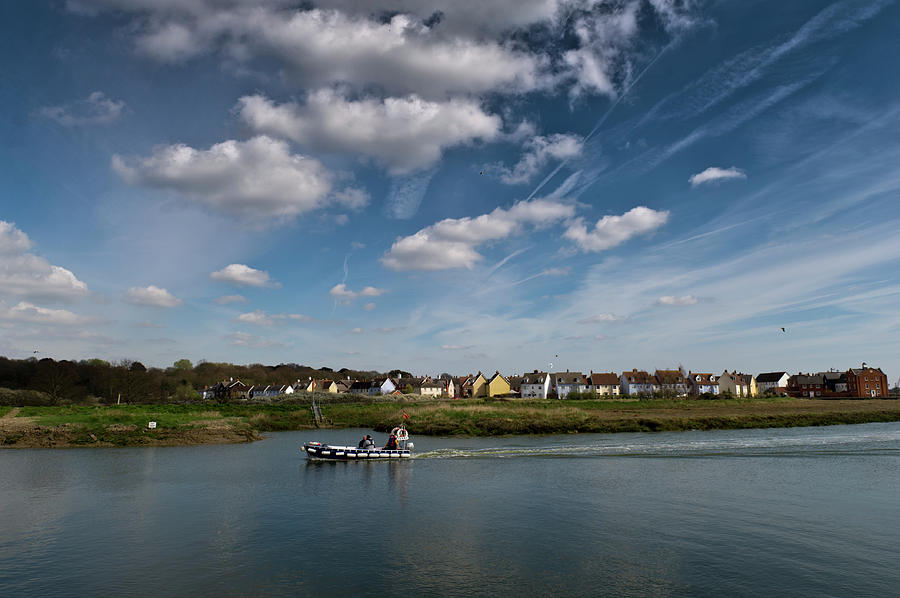 Wivenhoe Rowhedge ferry by Gary Eason
