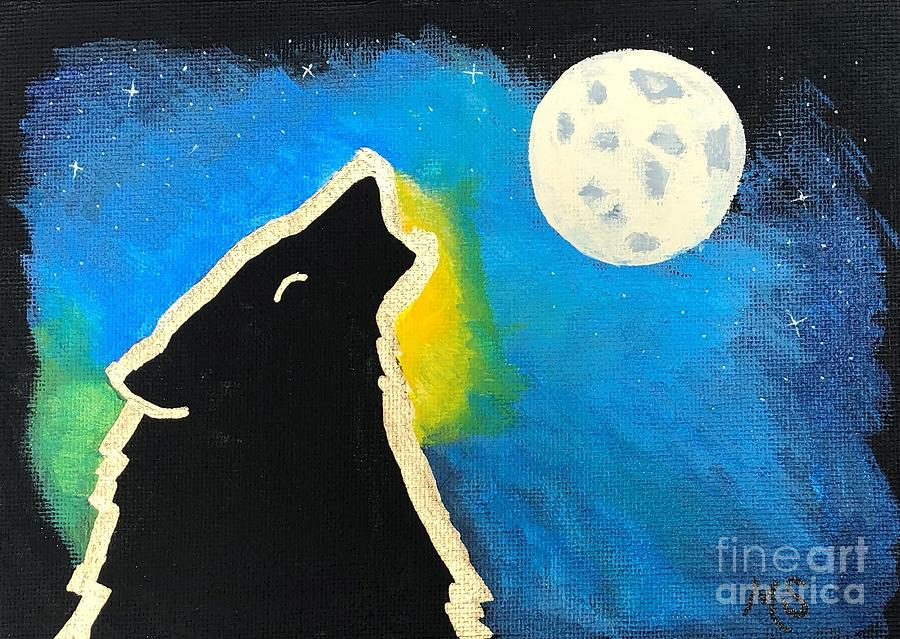 Wolf Moon by Monika Shepherdson