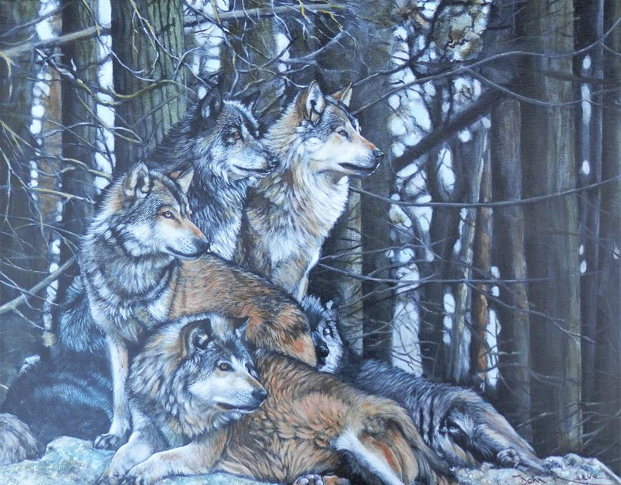 Wolf Pack by John Neeve